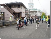 自転車運転ルール順守・マナー向上街頭啓発活動