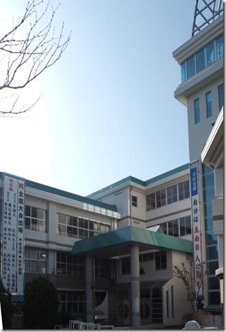京都大学工学部合格など進学実績の懸垂幕を作りました。