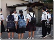 本校生徒によるスクールガイド