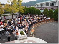 生徒会だより   香椿祭 一般公開 二日目