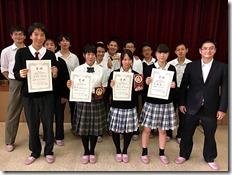 第9回 長野県高等学校将棋選手権大会 女子優勝の快挙