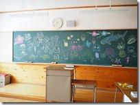沖縄展-黒板