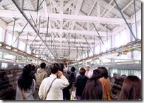 富岡製糸場の室内
