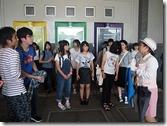 資料館の目で、資料館の中には沖縄戦の記録