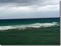 波は弱くなってきました