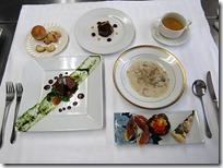 6組のコース料理