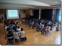マザーポートIT長野中島理事長講演会の様子