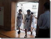 入場-女子バスケットボール部