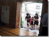 入場-女子ハンドボール部