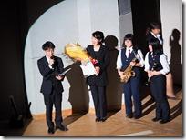 女鳥羽中学校吹奏楽部先生と生徒へのインタビュー