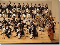 女鳥羽中学校吹奏楽部と本校吹奏楽部の共演