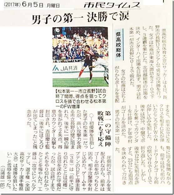 県総体サッカー