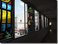 窓の飾りステンドグラス風