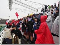 全校応援-運動部の生徒たち