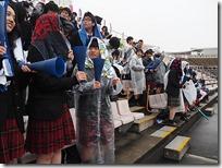 全校応援-一般の生徒たち