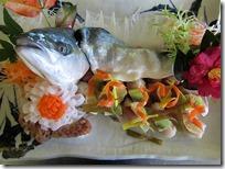 3年いなだの姿盛寿司