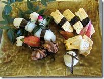 午前の寿司