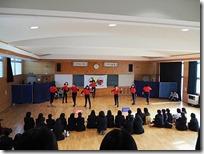 ダンス部発表会の様子