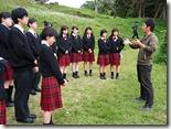 前田高地で沖縄平和ネットワークの方から説明