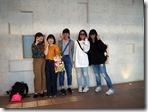 タクシー見学班の記念撮影