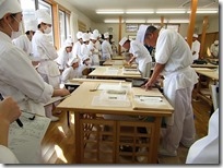 2月17日(土)生活産業基礎 蕎麦打ち体験