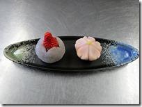 食物科 春の特別授業 1,2年生共に 和菓子