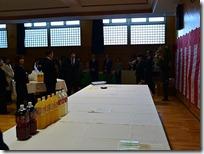 卒業祝賀会が開かれました。