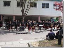 毎年恒例 春の吹奏楽部お昼のコンサート