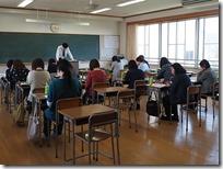 一般入試について進学講話