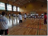 球技クラスマッチ(バレーボール)でした。6月18日