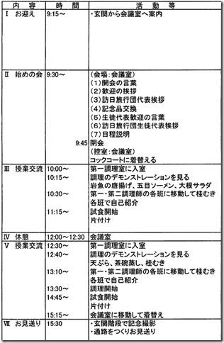 台湾からの訪日教育旅行団(明道高級中学)が来校しました。