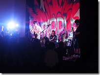 軽音楽部3年生バンドのライブ