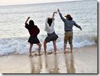 ビーチ散策