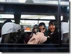 首里城へ向かうバス