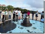 平和祈念公園噴水前