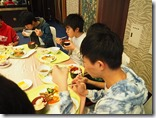 琉球料理のバイキング