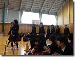 生徒会だより 「対面式」1年生を迎える会が開かれました。