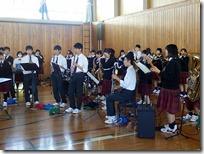 県大会の壮行会が行われました。