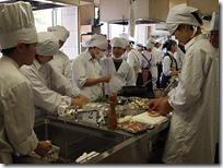 調理実習の講座イタリアン