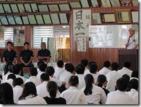 DARCによる2学年集会 『薬物乱用防止教育』