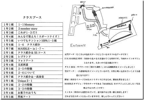 クラスブースとエントランス(会場入口の紹介