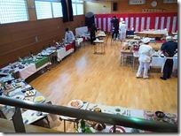 食物科卒業記念作品展の様子と料理 3年4組